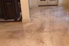 Metallic Residential Epoxy Flooring Tampa